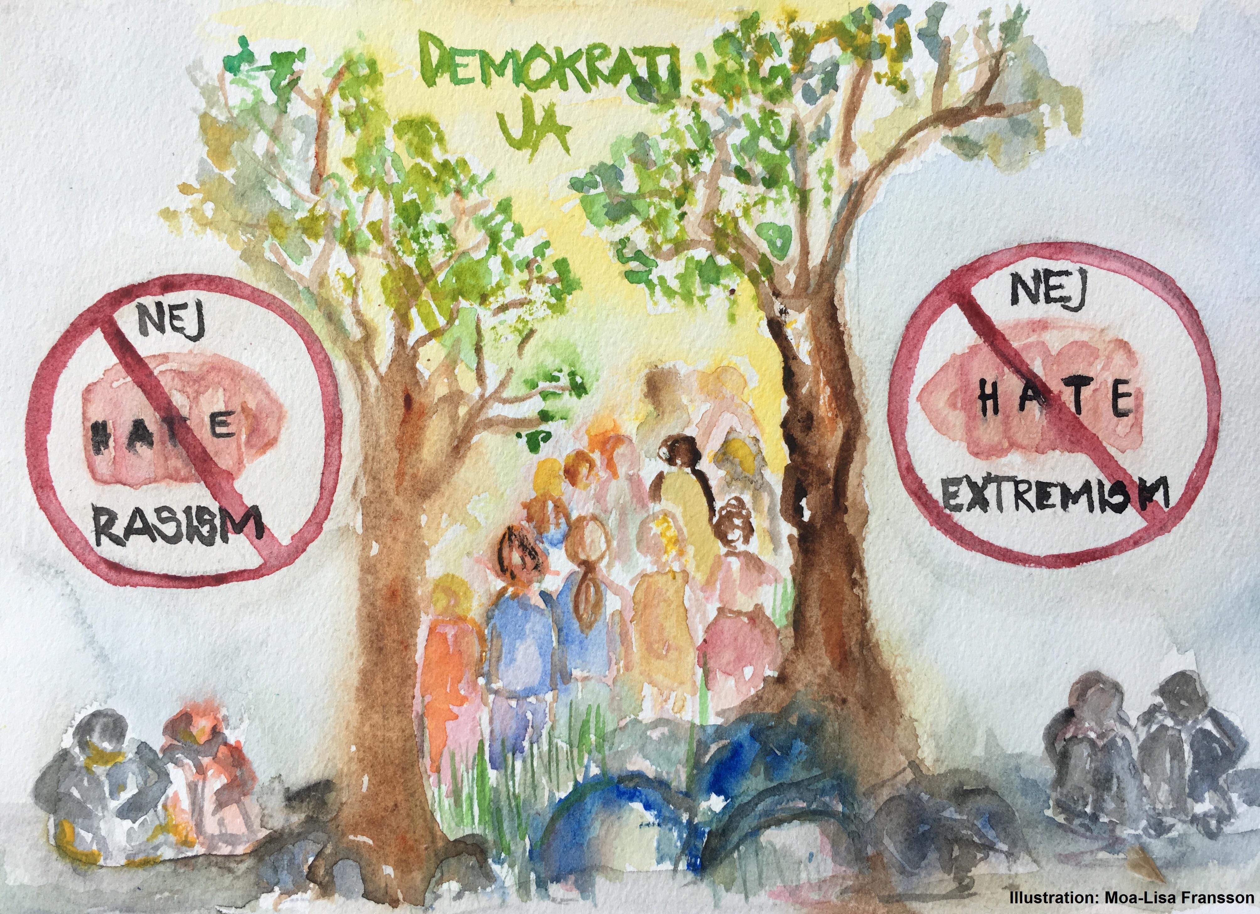 Inlagg vi ska undervisa om demokratin